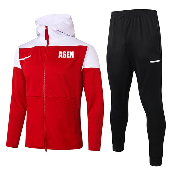 Asen 2021 red Hoodies Jacket