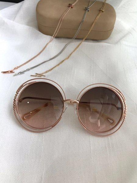Brown com lente rosa