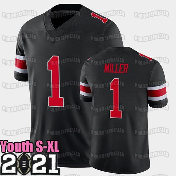 Negro Juvenil S-XL