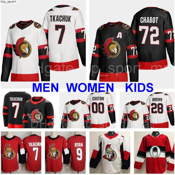 top popular New 2021 Hockey Ottawa Senators 41 Craig Anderson Jersey 9 Bobby Ryan 71 Chris Tierney 63 Tyler Ennis Vladislav Namestnikov 7 Brady Tkachuk 2020