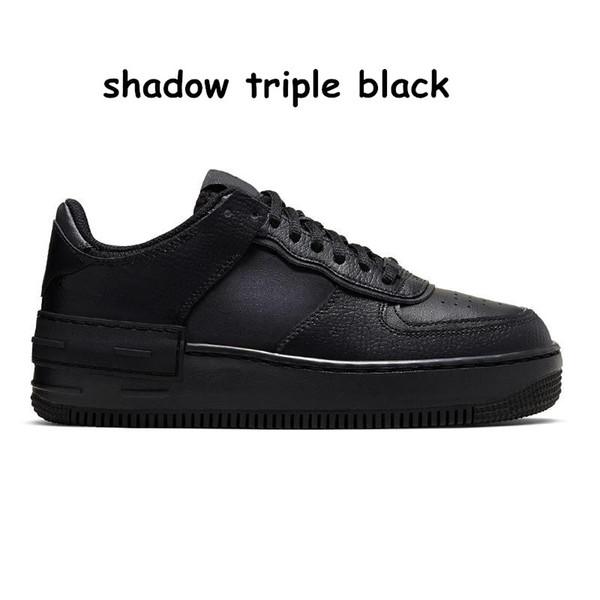 D13 Shadow Triple Black 36-45