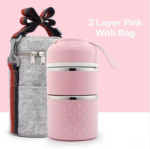 2 Capa rosa bolsa