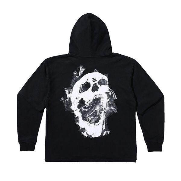 Nero Skull Hoodie
