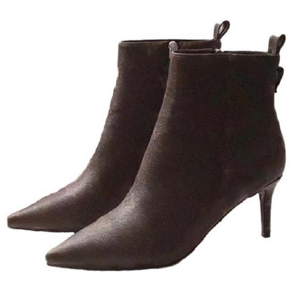 best selling Fashion over the knee color matching round head women long Boots female Ankle Boots casual wild non-slip leather women boots cowboy 01