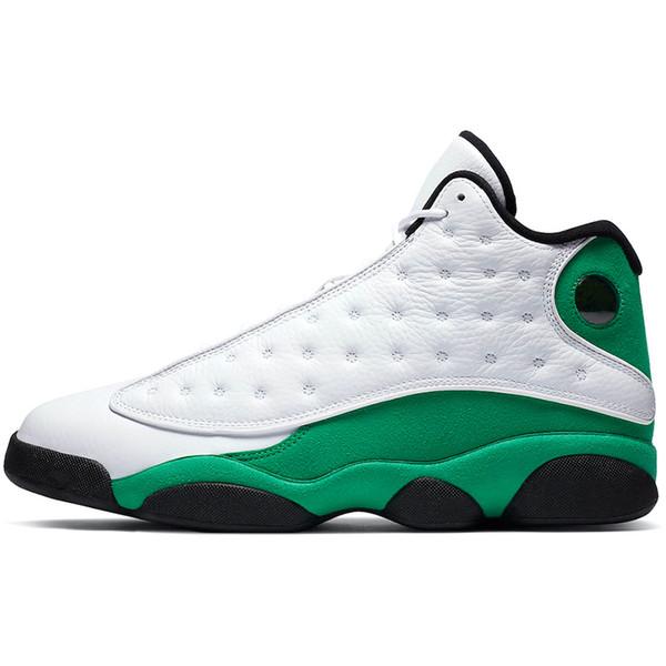 13s Lucky Green.