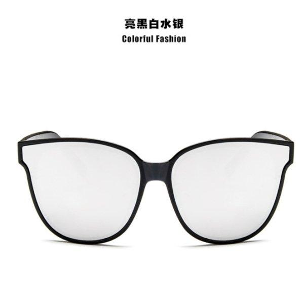 Black Frame Silberstück mit Gläsern Fall