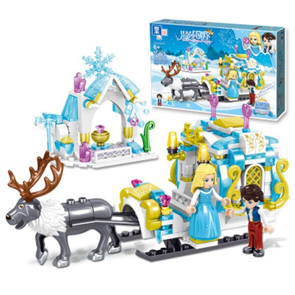 top popular Girls series Icelandic adventure Building-block Toys Compatible with inglys DIY Educating Children Christmas Gifts 2020