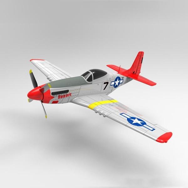 best selling Volantex RC 768-1 Mus&tang P51D 450mm Wingspan EPO Warbird RC Airplane RTF 201103
