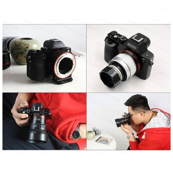 top popular For M42-EOS M Mount Adapter Ring for M42 Screw Lens to EF-M Mirroless Camera M1 M2 M3 M101 2021