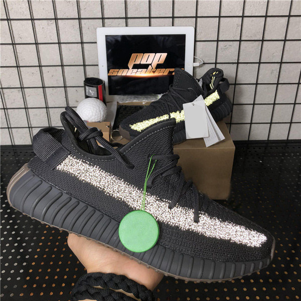 best selling 2020 Top quality Kanye West Men Women Running Shoes Cinder Yecheil Bred Oreo Desert Sage Earth Linen Asriel Zebra Trainers Sneakers with Box