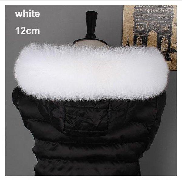 weiße Farbe 12cm 70cm Futter Länge