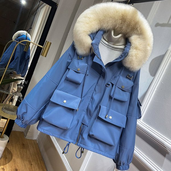 Real Fur And Blue