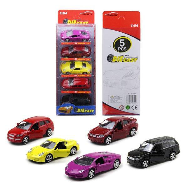 5 pcs petite voiture
