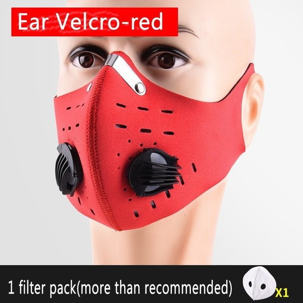 Red with Ear Velcro