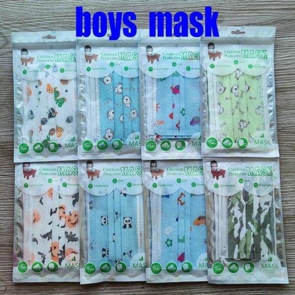 garçons masque