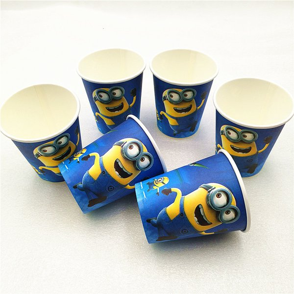 best selling party decorations Tablecloth Cup Plate Straw Napkin Cap Gift Candy Popcorn Box Card Birthday supplies