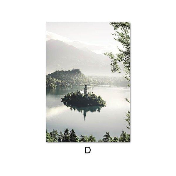 10x15cm No Frame Picture D