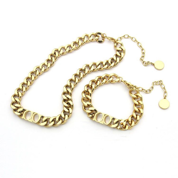 best selling Explosion classic chain design jewelry luxurydesigner jewelry women design necklace Bracelet