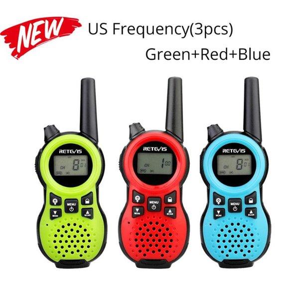 China 3Pcs US Frequenz