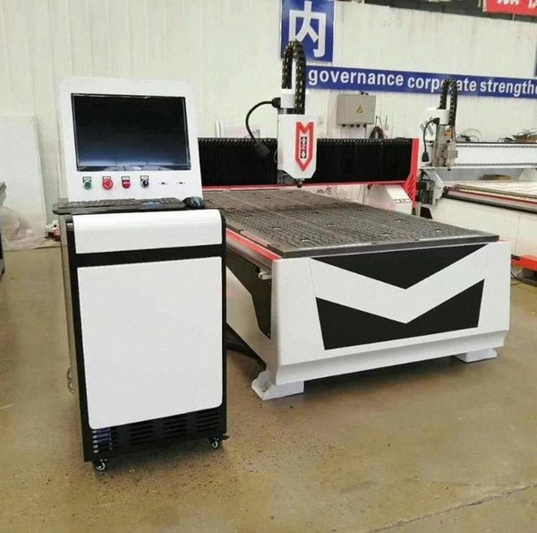 top popular Cheap 1325 cnc wood carving machine factpry supply  cnc router for metal aluminum  furniture milling machine l8mq# 2021
