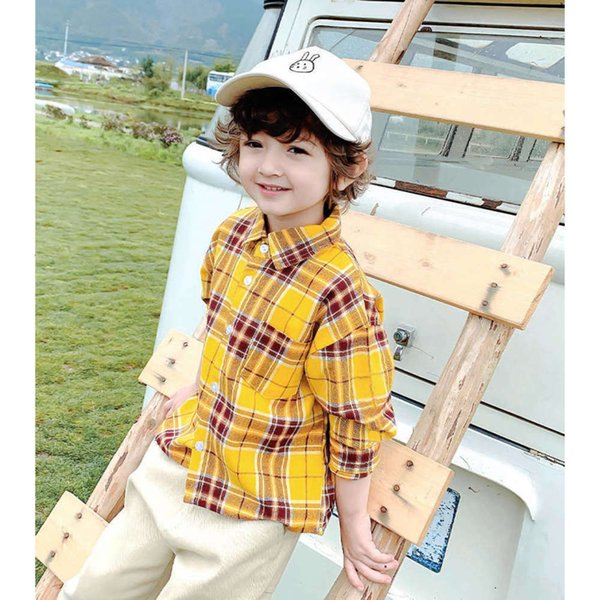 Yellow Spring And Autumn Long Sleeves