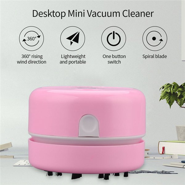top popular Smart home Vacuum Cleaner Mini Desktop Keyboard Vacuum Cleaning Portable Home Handheld Sweeping Machine Smart Helper 2021