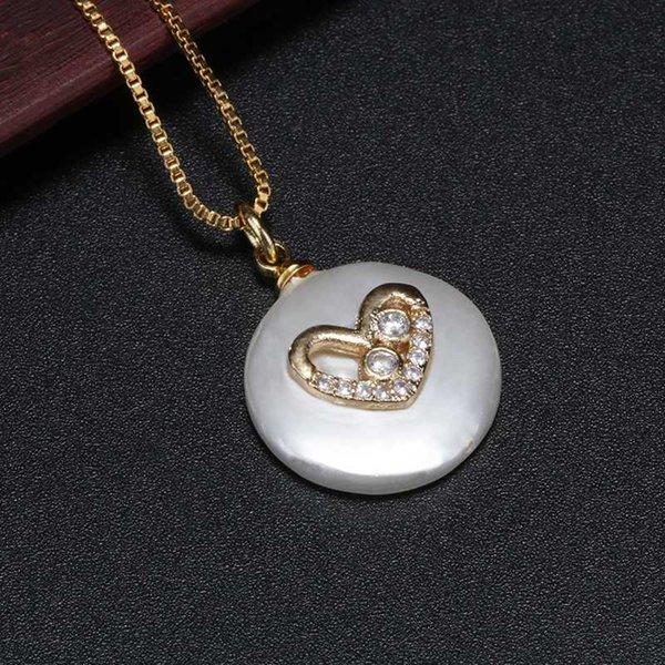 blanc cz coeur