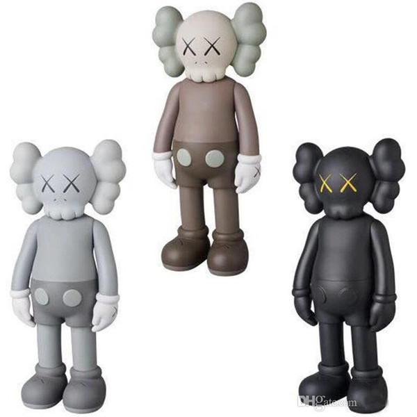best selling Hot 20CM 0.3KG OriginalFake Kaws use of small dolls to play 8inches Action Figure model decorations toys gift