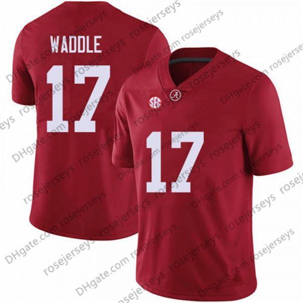 17 Jaylen Waddle Rouge
