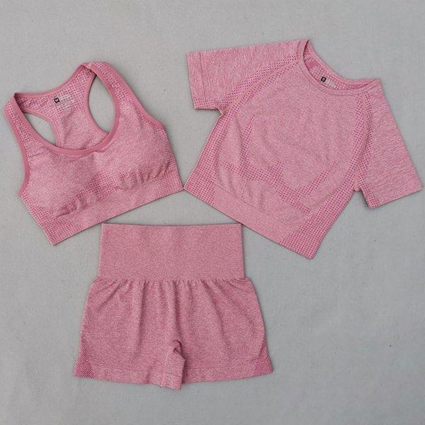 Pink 3 Pcs Set