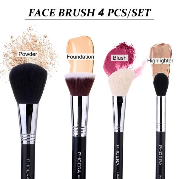 4pcs Face brush set
