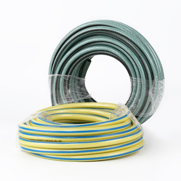 best selling Watering irrigation flushing utensils hot sale 50 meters PVC garden hose Two-color PVC home use hose