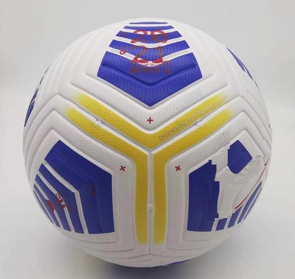 top popular Club Serie A League match Soccer ball 2020 2021 size 5 balls granules slip-resistant football Free shipping high quality ball 2021