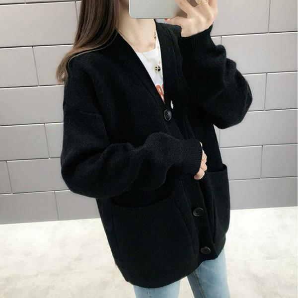Cardigan negro-XL