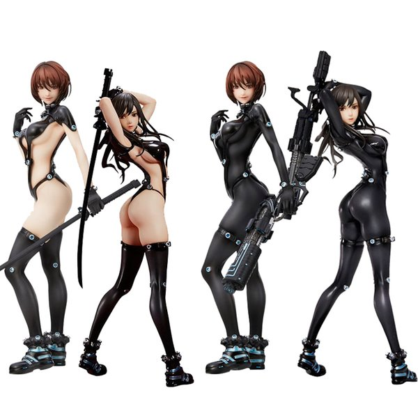 best selling GANTZ:O Shimohira reika Yamasaki Anzu Hdge NO.15 Sexy girls Action Figure japanese Anime adult Action Figures toys Anime figure LJ200924