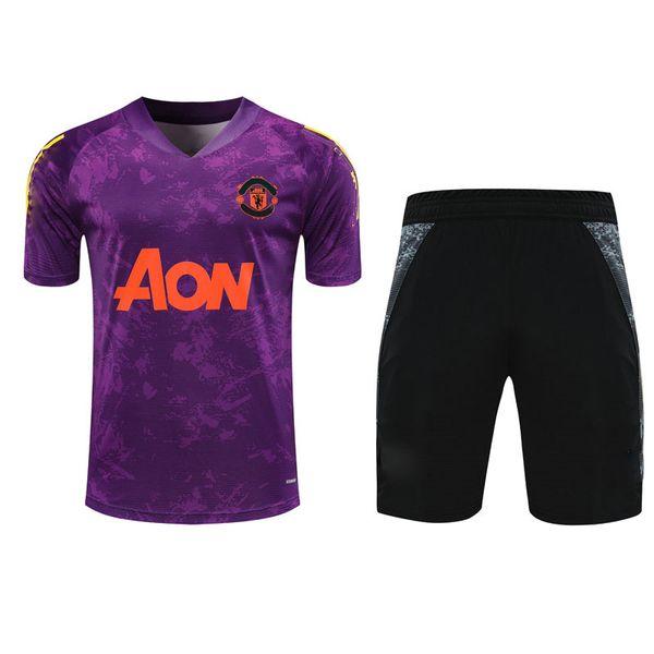418G427 2021 Short sleeve purple Kit
