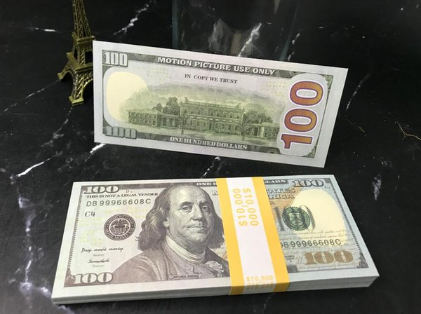 100 nuovi Dolars (100pcs)