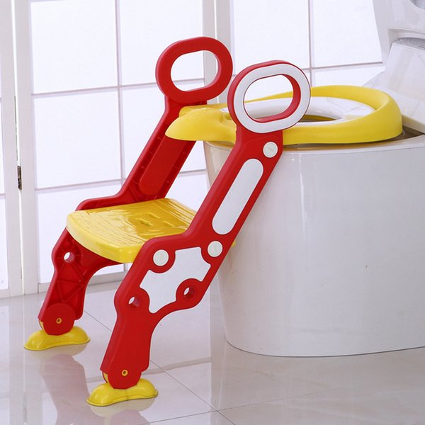 best selling New children's portable toilet collapsible power circle baby outdoor travel baby trail urinal trainer LJ201110