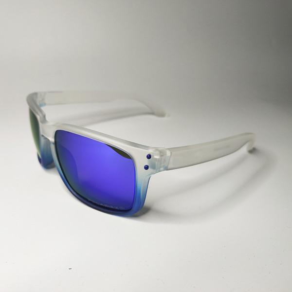 TP white blue frame blue lens