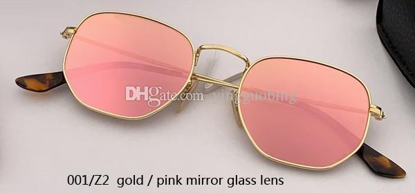 001/Z2 gold/pink mirror lens