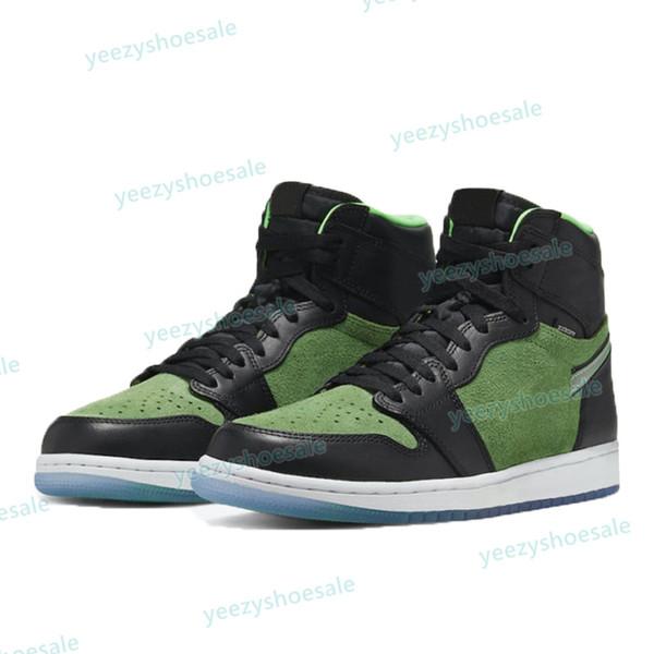 13. Zoom verde nero verde