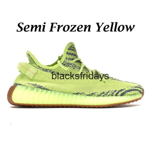 Amarelo semi congelado