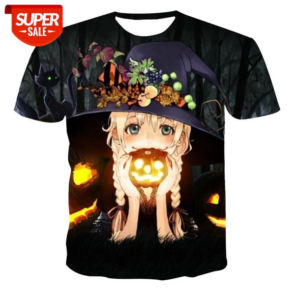 best selling New T-shirt men's high-quality men's and women's T-shirts Halloween short-sleeved 3D printing Christmas holiday T-shirts #8x7m