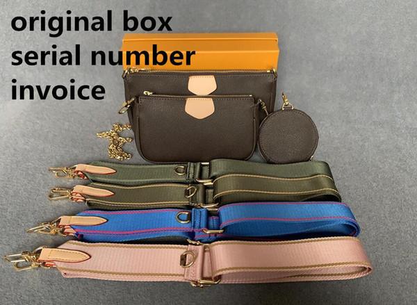 best selling Best selling handbag shoulder bags handbag fashion bag handbag wallet phone bags Three-piece combination bags free shopping