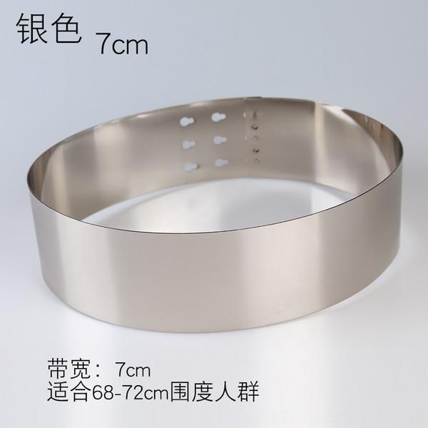 Anchura: 7 cm Plata