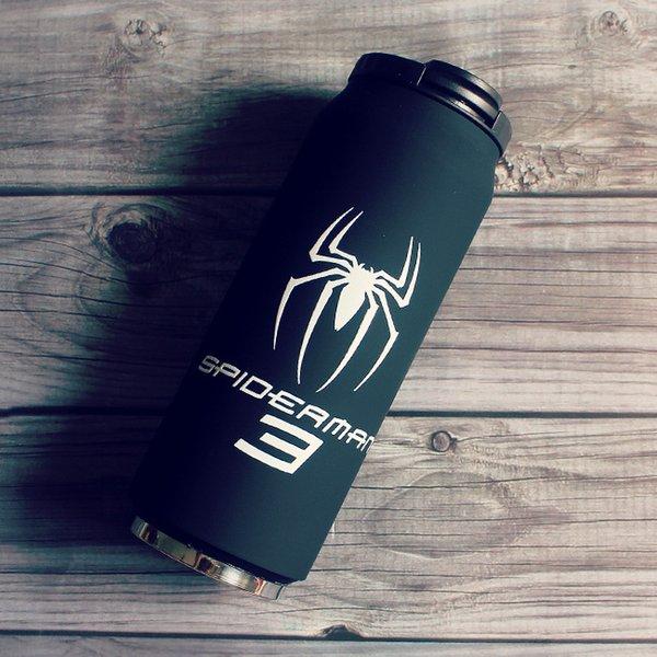 Virar Preto Spider Man + Cup Escova + Tampa Cup