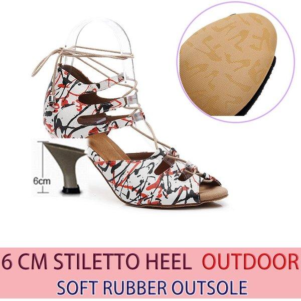 Gummi 6cm Heel