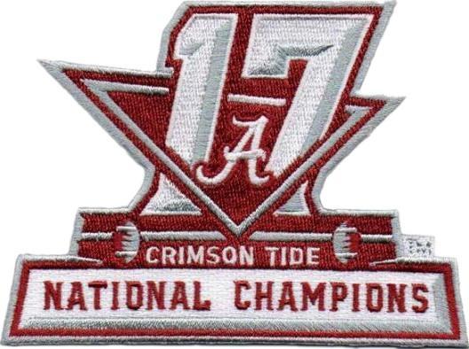 2017 Alabama Champions Patch