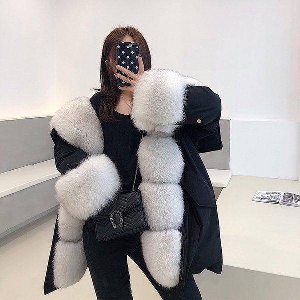Bleu Noir Fox-L