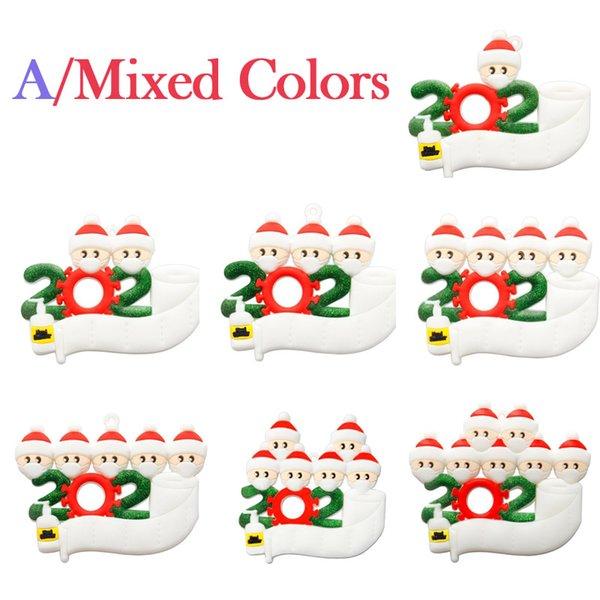 A / Colores mixtos